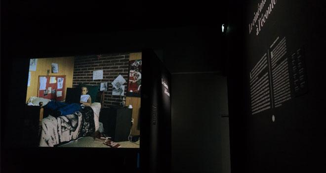 Vue de l'exposition Ludwig van le mythe Beethoven- Le cinéma à l'écoute ©Matthias Abhervé
