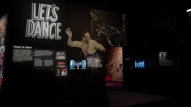 Vue de l'exposition Comédies musicales Rafaël Gubitsch - Philharmonie de Paris