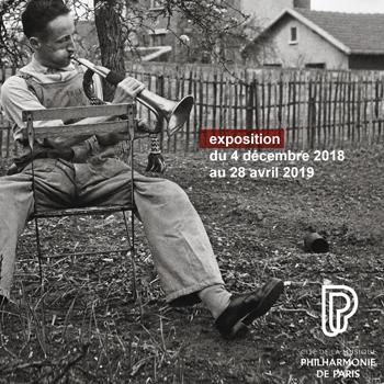Affiche de l'exposition Doisneau et la musique