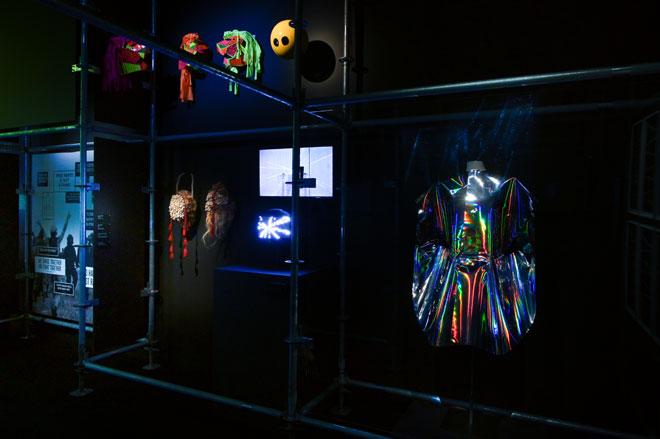 Vue de l'exposition Electro -  Dancefloor © Gil Lefauconnier