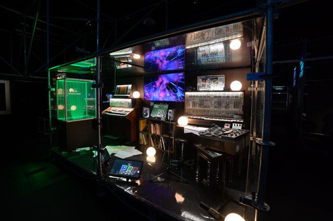 Vue de l'exposition Electro -  Studio Jean-Michel Jarre © Gil Lefauconnier