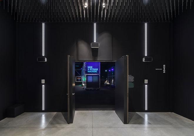 Vue de l'exposition Electro - SONOS © Gil Lefauconnier