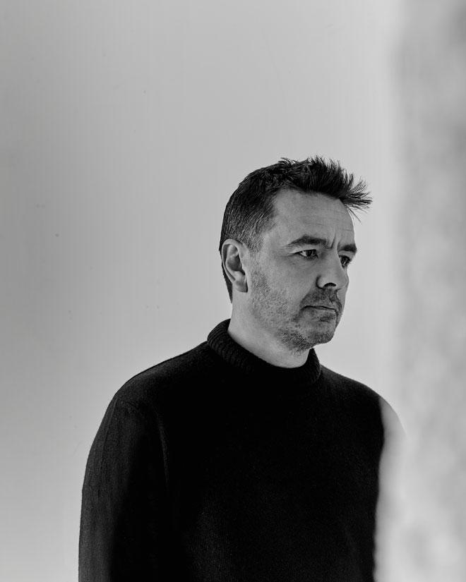 Vue de l'exposition Electro - Portrait de Laurent Garnier © Gil Lefauconnier