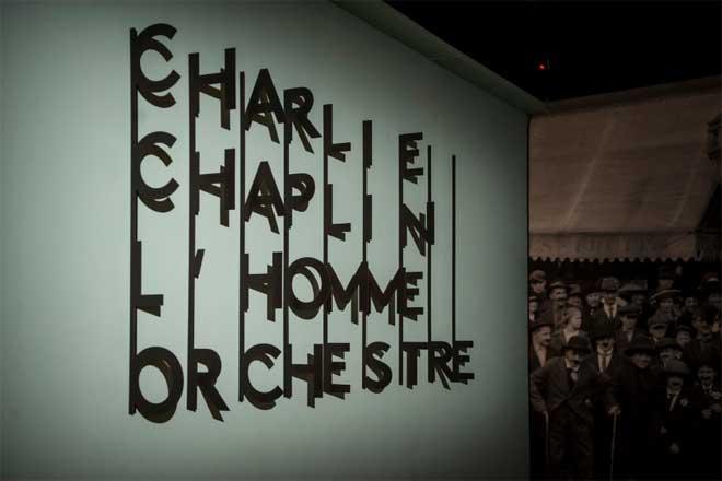 Vue de l'exposition : entrée. Photo : Nora Houguenade - Cité de la musique - Philharmonie de Paris.