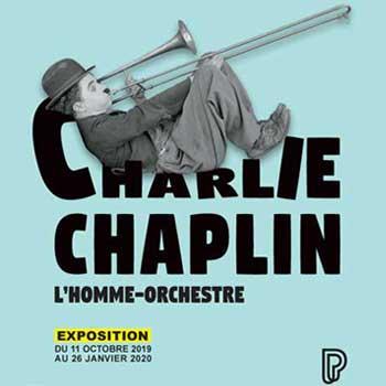 Exposition Charlie Chaplin, l'homme orchestre à la Philharmonie de Paris