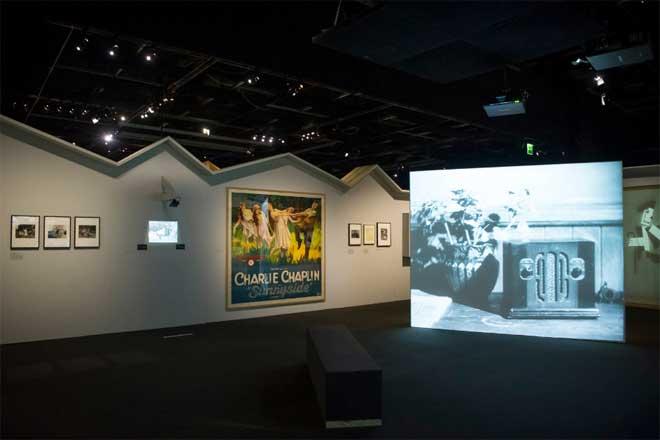 Vue de l'exposition : hommage à Nijinski. Photo : Nora Houguenade - Cité de la musique - Philharmonie de Paris.