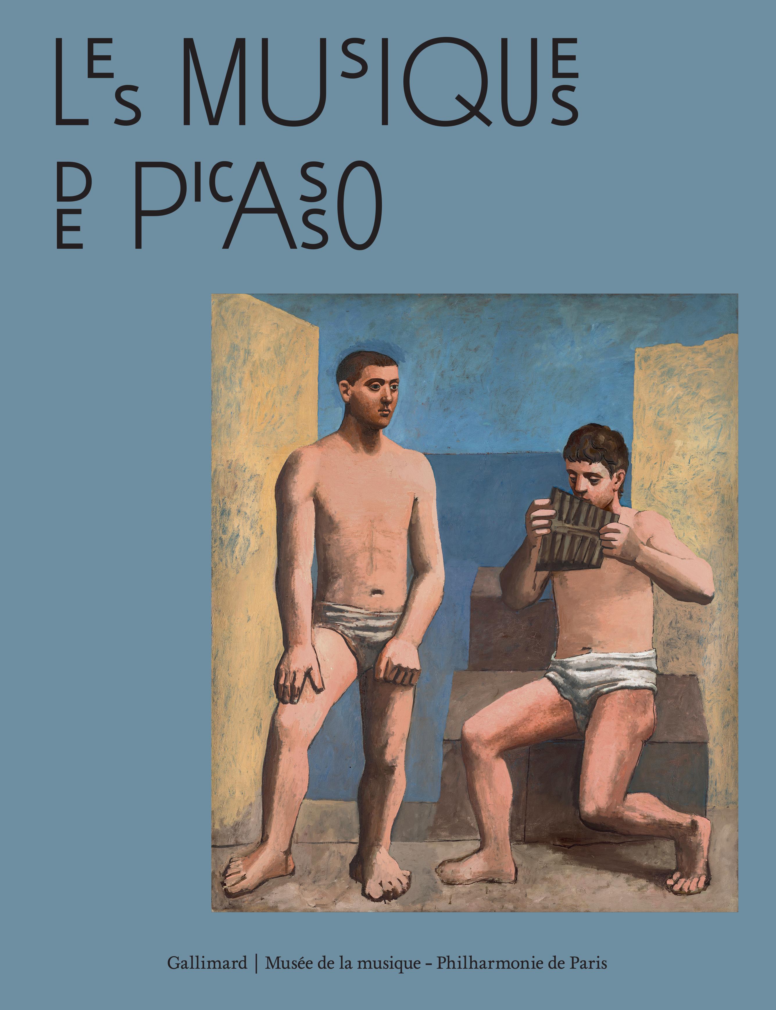 Catalogue exposition Les musiques de Picasso à la Philharmonie de Paris- En vente à la librairie