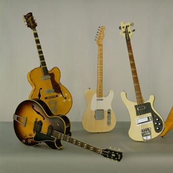 découvrir l'histoire de la guitare électrique
