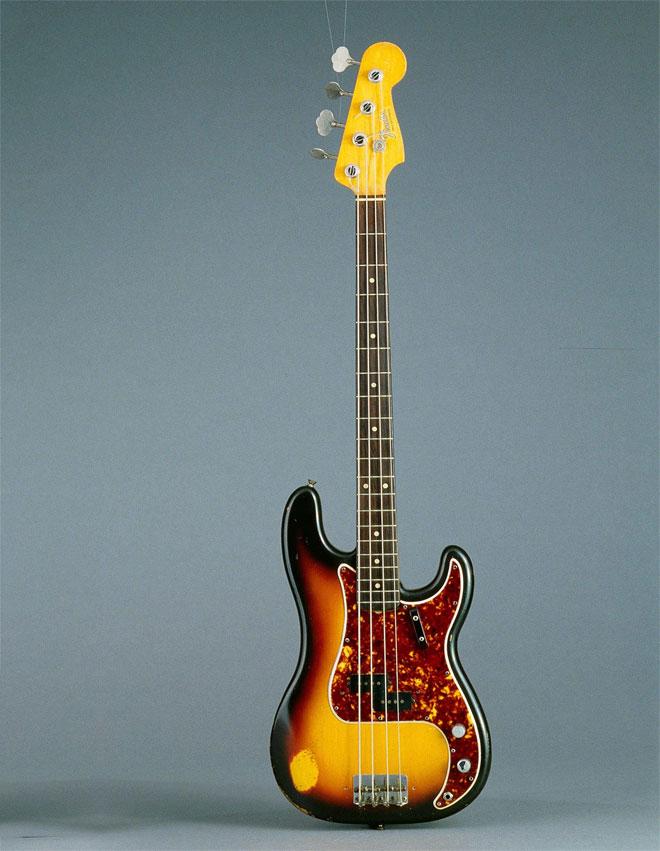Guitare Fender, États-Unis, 1962, CMIM000019355 © Cité de la musique, Jean-Marc Anglès