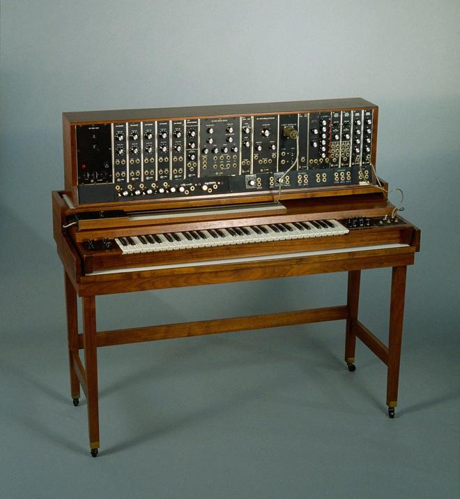 Synthétiseur modulaire, Robert Arthur Moog, 1965, New York © Cité de la musique - Jean-Marc Anglès