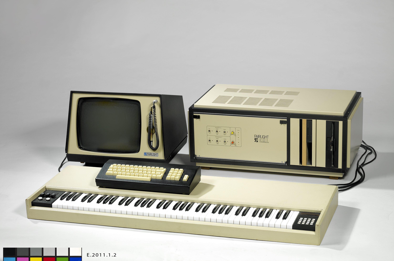 Synthétiseur et échantillonneur cmi ii - unité centrale Fairlight Instruments Pty Ltd, (firme), 1982, Sydney © Cité de la musique - Claude Germain
