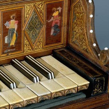 Histoire instrument : le clavecin