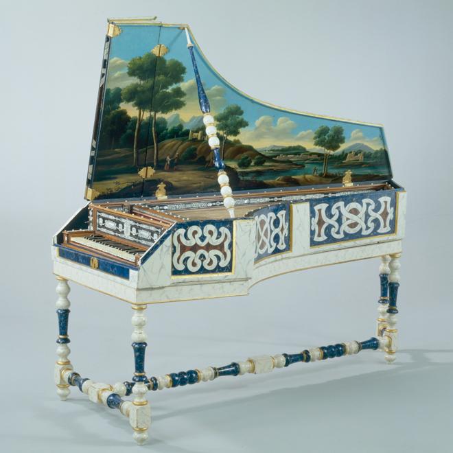 Clavecin, Faby, Bologne, 1677 © Musée de la musique - Photo : Jean-Marc Anglès