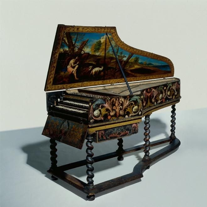 Clavecin, Gilbert Desruisseaux, 1678-1679, Lyon © Musée de la musique - Albert Giordan