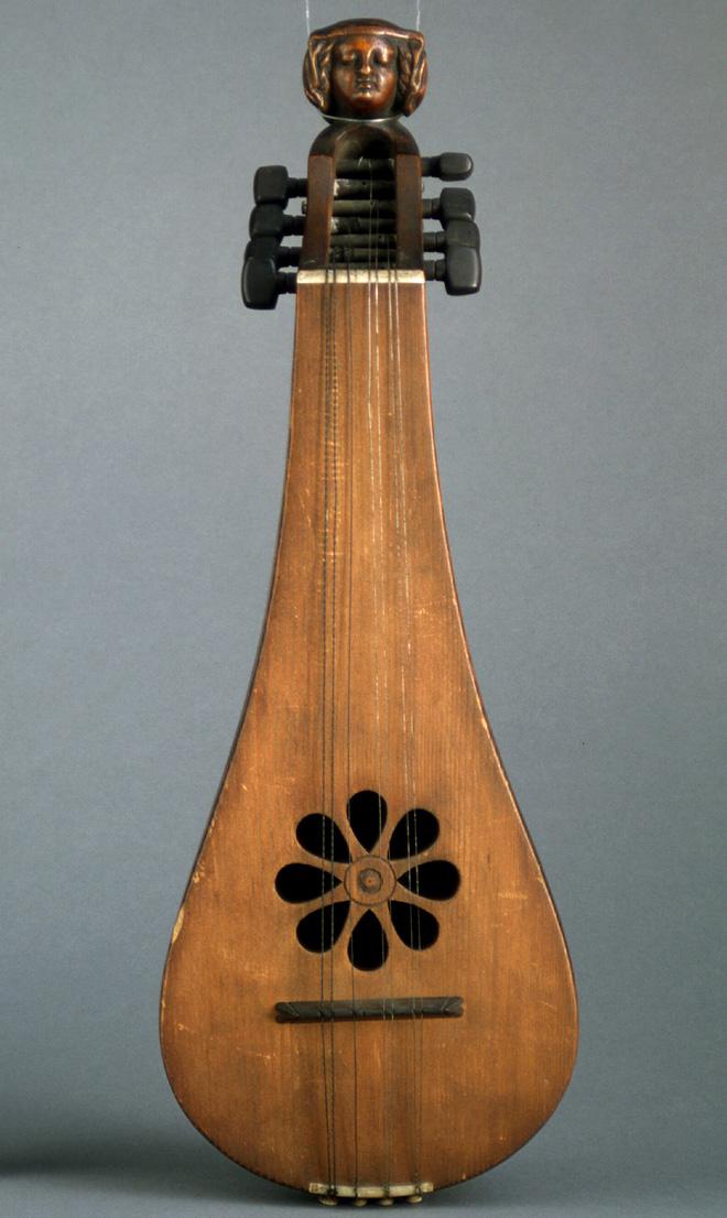 Reconstitution de luth, Auguste Tolbecque, Niort, fin XIXe siècle © Cité de la musique - Photo : Jean-Marc Anglès