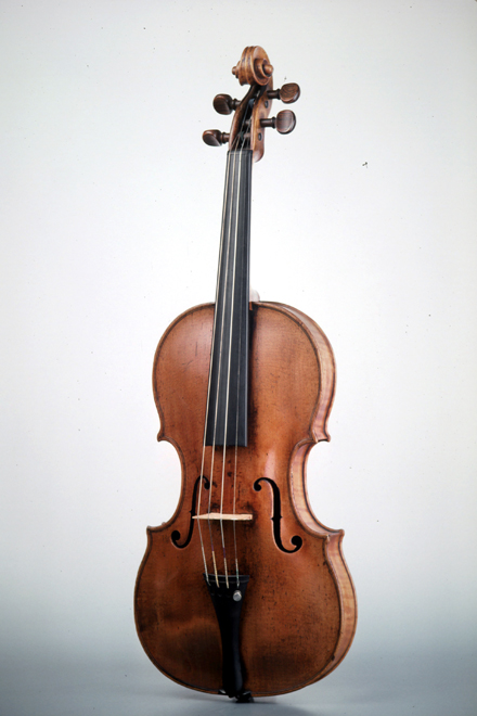 Violon, Jacob Stainer, Absam, 1669, E.654, Collection Musée de la musique © Cité de la musique - Jean-Claude Billing
