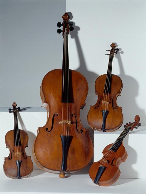 Famille des Violons, Louis Guersan, Collection Musée de la musique © Cité de la musique - Photo : Albert Giordan
