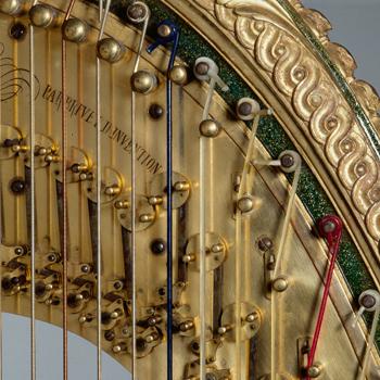 Histoire instrument : la harpe