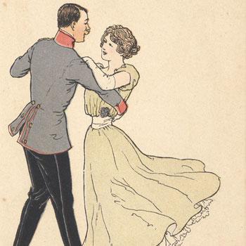 Der lustig Krieg © Historische Bildpostkarten - Universität Osnabrück