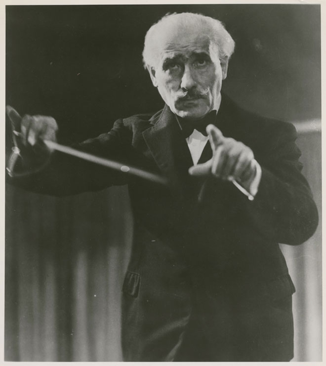 Arturo Toscanini © NY Public Library, digital collections