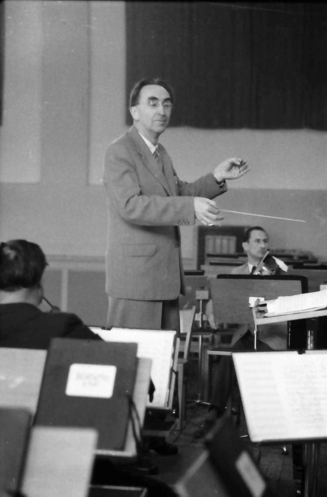Hans Rosbaud, chef d'orchestre © Landesarchiv Baden - Württemberg