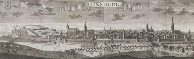 Lunebourg, par Friedrich Bernhard Werner, 1729 © Österreichische Nationalbibliothek