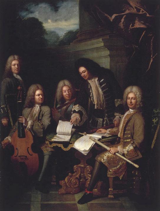 Réunion de musiciens, par André Bouys © Musée des beaux-arts de Dijon