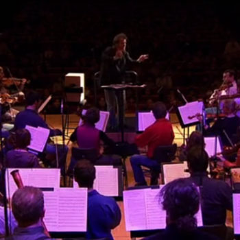 Concert filmé Mozart