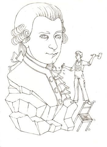 Les grandes figures: Mozart © Julie Scobeltzine