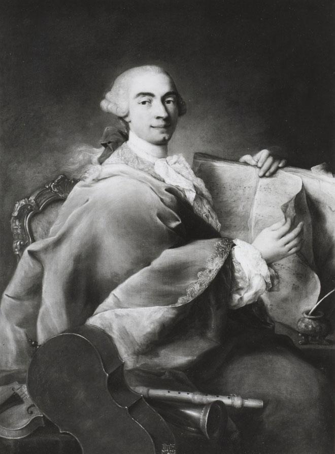 Portrait de Domenico Cimarosa, par Alessandro Longhi © Gallica-BnF