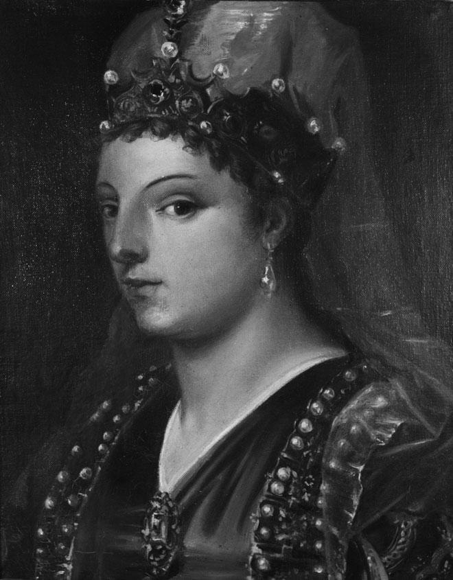 Portrait de Caterina Cornaro, reine de Chypre © KHI - Fotothek des Kunsthistorischen Instituts in Florenz Max-Planck-Institut