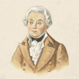 Portrait de Antonin Kraft © NY Public Library, digital collections