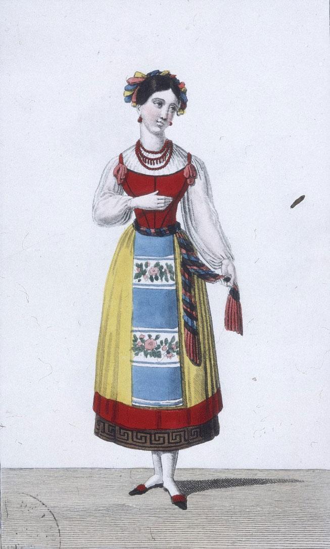 La Muette de Portici, costume pour le rôle de Fenella © Gallica-BnF