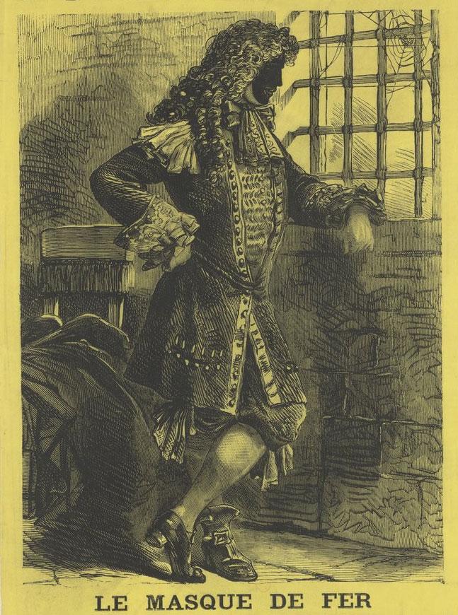 Le masque de fer, Le Petit Moniteur, numéro du 8 février 1873 © Gallica-BnF
