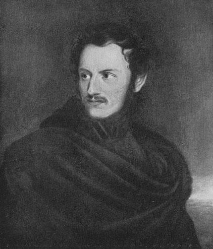 Portrait de Nikolaus Lenau © Universitätsbibliothek Würzburg