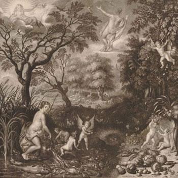 Isaac Jehner, Les quatre elements, 1779 © British Museum