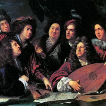 Portrait de  musiciens du siecle de Louis XIV par François Puget © Musee du Louvre