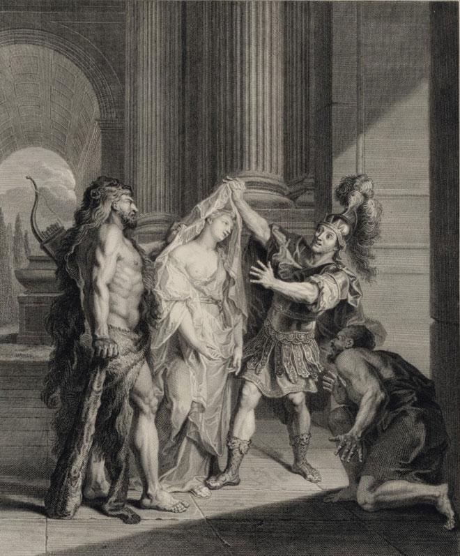 Hercule rendant Alceste à son époux (estampe) © Gallica-BnF
