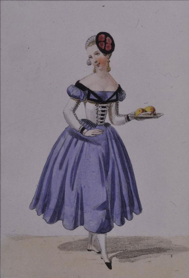 Costume pour le rôle de Barberine © Gallica-BnF
