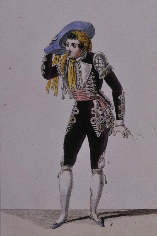 Costume pour le rôle de Figaro © Gallica-BnF