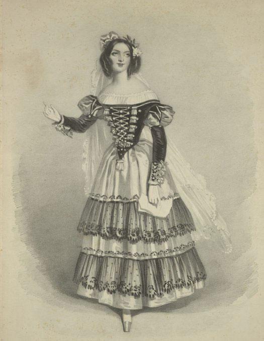 Mademoiselle Schieroni dans le rôle de Suzanne des Noces de Figaro © NY Public Library, digital collections