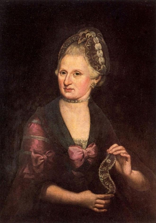 Portrait d'Anna Maria Pertl, par Rosa Hagenauer Barducci © Stiftung Mozarteum, Salzbourg