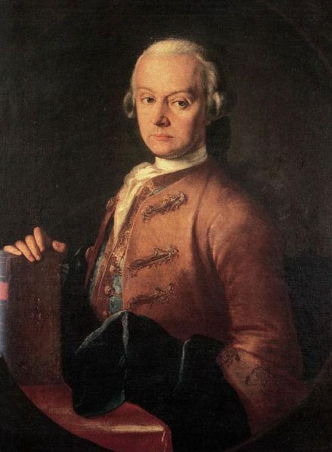 Portrait de Leopold Mozart, par Lorenzoni © Stiftung Mozarteum, Salzbourg