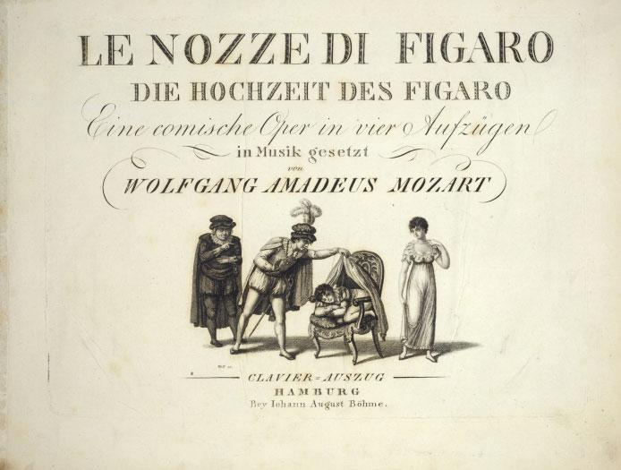 Philharmonie à La Demande Les Noces De Figaro De Wolfgang