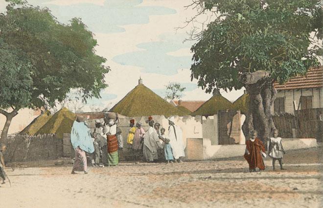 La petite mosquée, Dakar, Sénégal (photographie de François-Edmond Fortier) © Museum of Fine Arts, Boston