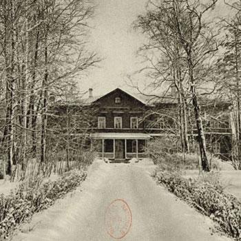 Maison-musée Tchaïkovski à Klin, Russie © Gallica-BnF