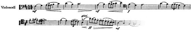 Symphonie n°6, deuxième mouvement, premier thème