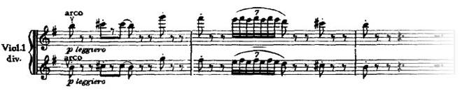 Symphonie n°6, troisième mouvement, thème 1