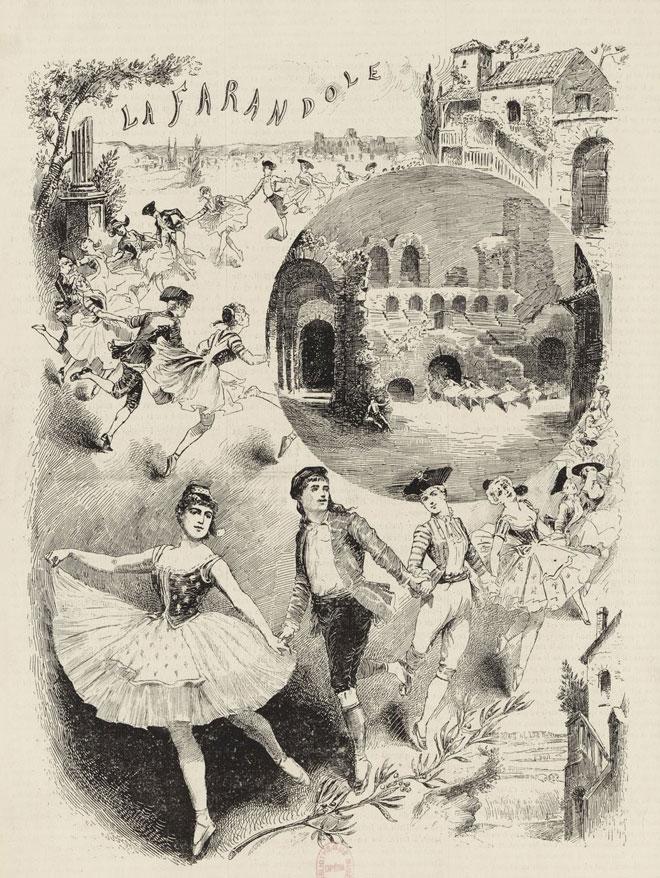 La Farandole, ballet sur une musique de Dubois © Gallica - BnF