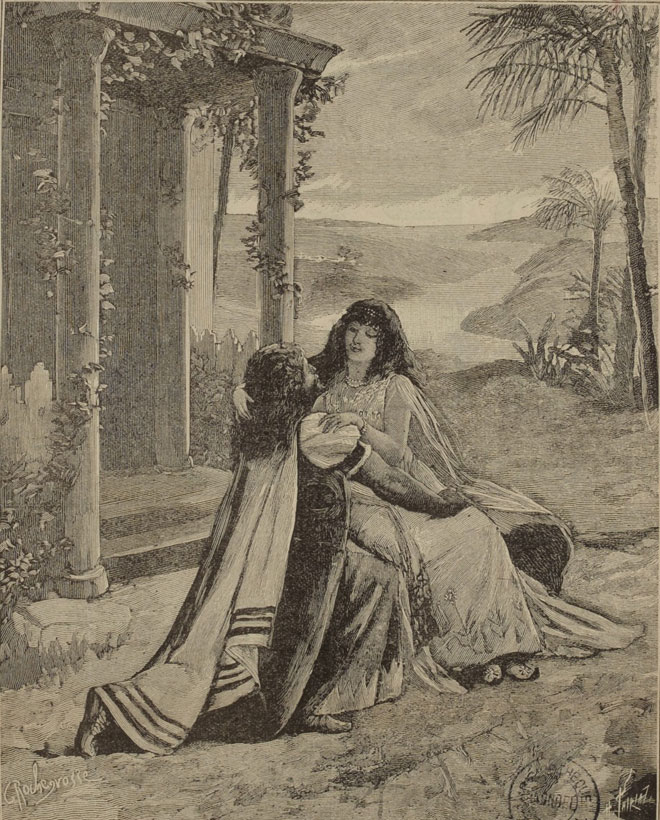 Samson et Dalila, opéra de Camille Saint-Saëns, illustration de presse © Gallica - BnF